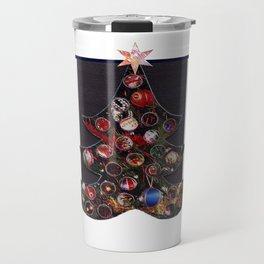 Christmas D6 - Tree & Stars Travel Mug