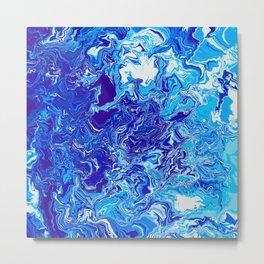Electric Ice Metal Print