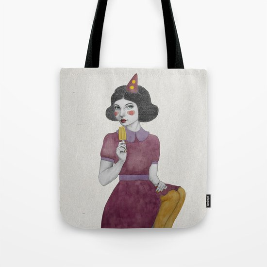 Andria dressed more colourful Tote Bag