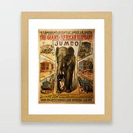 Vintage poster - Jumbo Framed Art Print