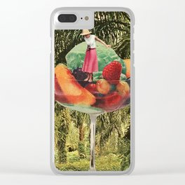 Refreshment Clear iPhone Case