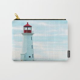 Old Lighthouse, Blue Ocean Carry-All Pouch