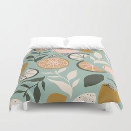 Indy Bloom Design Lemon Lime Duvet Cover