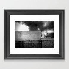 La Mur Framed Art Print