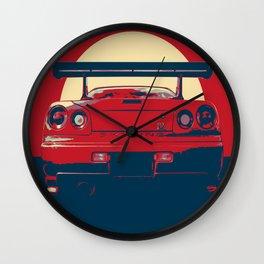 Nissan Skyline-ART Wall Clock