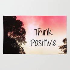 Think Positive Rug