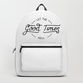 Let the good times roll Backpack