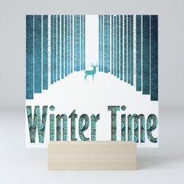 Winter time 5 Mini Art Print