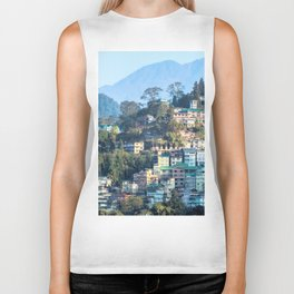 Pastel City : Gangtok Biker Tank