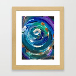 Spin Cycle Framed Art Print
