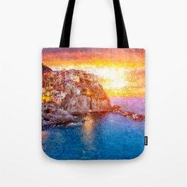 Artwork - Manarola Tote Bag