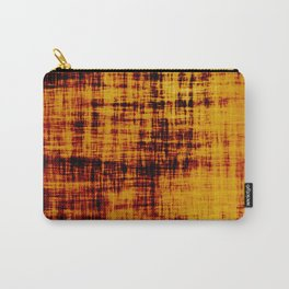 Burned Orange Abstract Carry-All Pouch