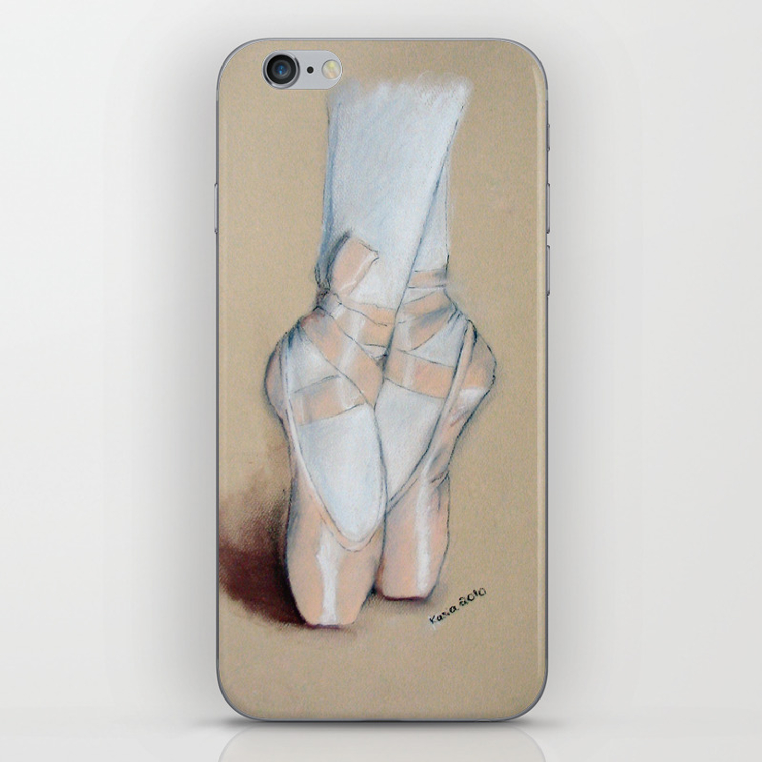 Ballet Pointe Shoes Iphone Skin By Feelingartsy Society6