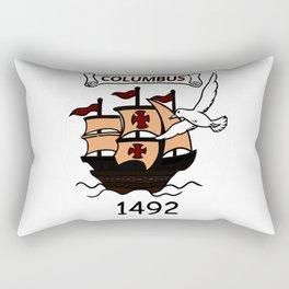 Columbus 1492 Rectangular Pillow