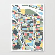 Portland. Canvas Print
