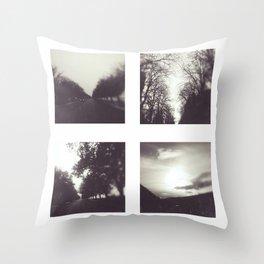 Roads I Throw Pillow