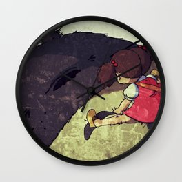 Always Me and You Wall Clock