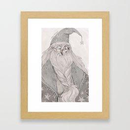 Dumbledore Framed Art Print