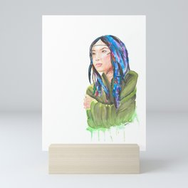 Wintun Girl Mini Art Print