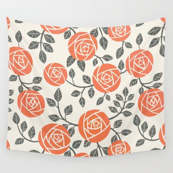 Retro roses by amandavogler