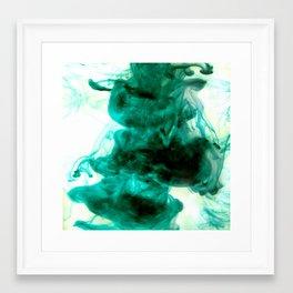 Dancing Ink, September Framed Art Print