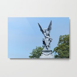 Angel and blue skies Metal Print