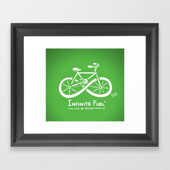 Infinite Fuel  Framed Art Print