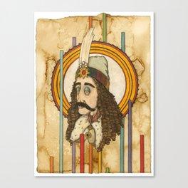 Vlad III Canvas Print