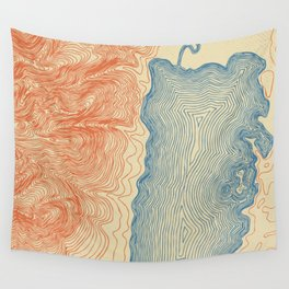 Jackson Lake Wall Tapestry