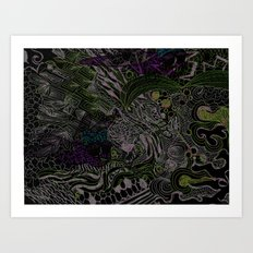 It's a Jungle Out There Art Print