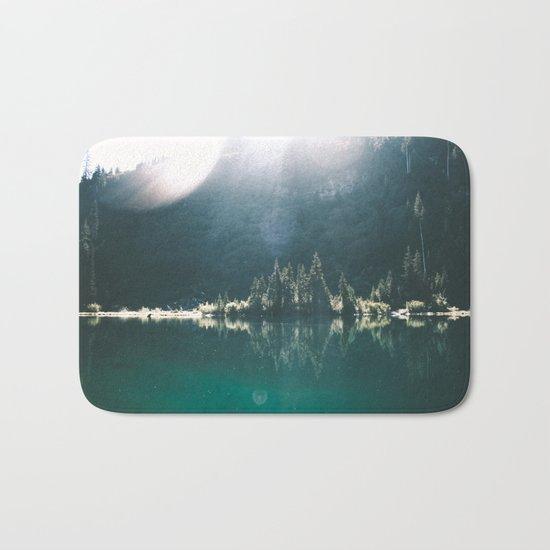 Blue Lake Bath Mat