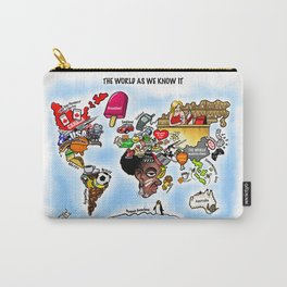 The World as we know it Carry-All Pouch