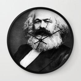 Karl Marx Portrait Wall Clock
