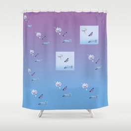 Why So Busy? Shower Curtain