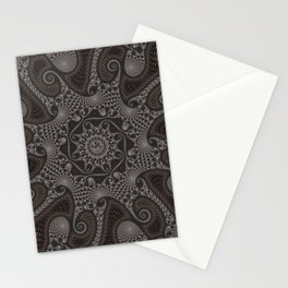 Old Copper Lace Stationery Cards