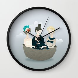 Over the ladies' nest  Wall Clock