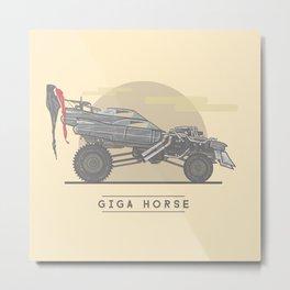 Mad Max: Fury Road - Giga Horse  Metal Print