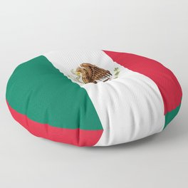 Mexican flag of Mexico Floor Pillow