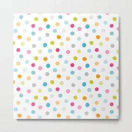 Chickweed Mid Dots Metal Print