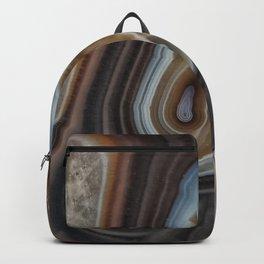 Mocha swirl Agate Backpack