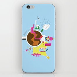 Creative Destruction iPhone Skin