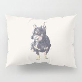 Little Dog Waiting Pillow Sham