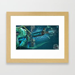 Machine Gun 11 Framed Art Print