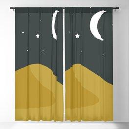 Starry Desert Blackout Curtain