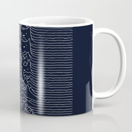 Furr Division Cats (Dark Blue) Coffee Mug
