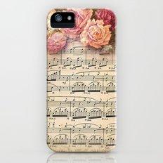 Vintage Music #2 Slim Case iPhone (5, 5s)