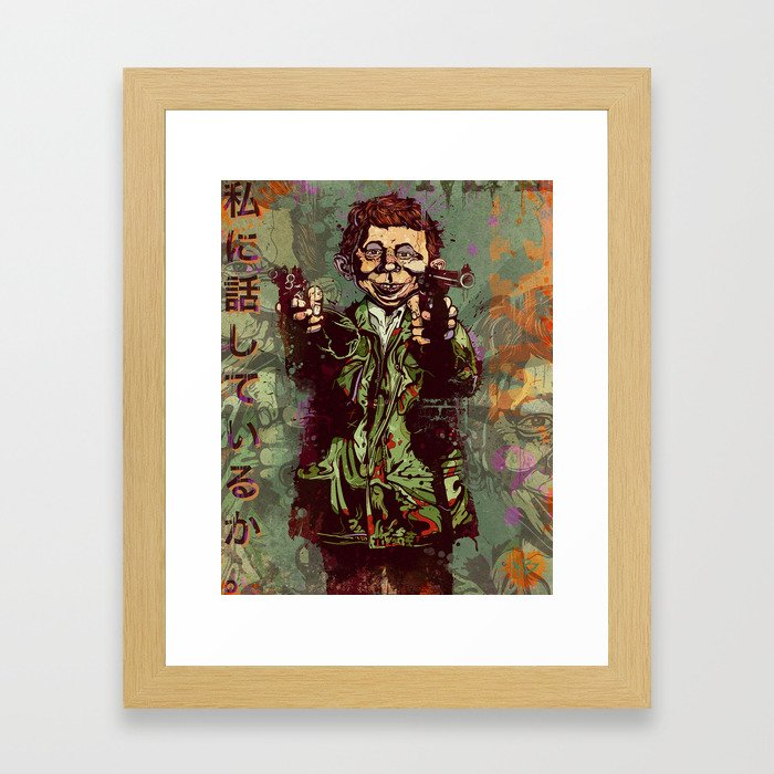 What Me Worry ? Framed Art Print