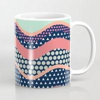yetiland Mugs featuring Patternwork XII by Metron