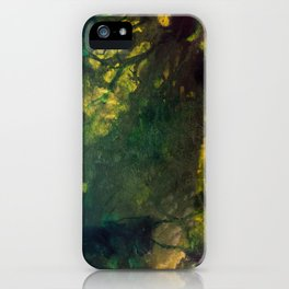 In the deep forest green iPhone Case