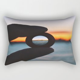 Auckland Sunset Rectangular Pillow